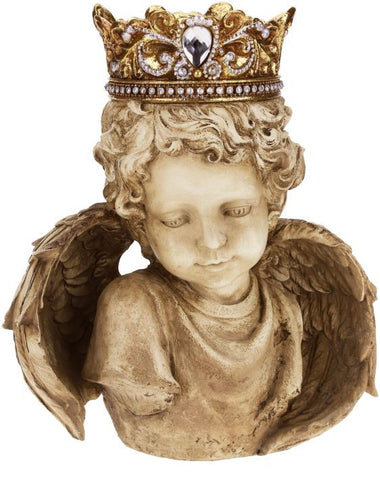 Cherub with Crown