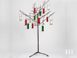 "46"" Metal Votive Tree"
