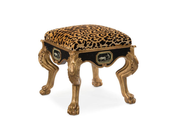 Callaway Stool in Old Gold Finnish