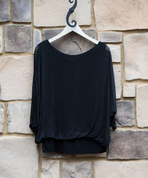 Silk Band Top