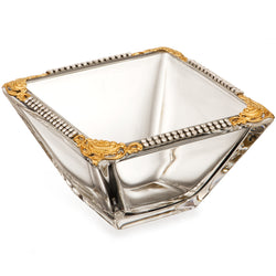 Imperial Filigree Square Bowl
