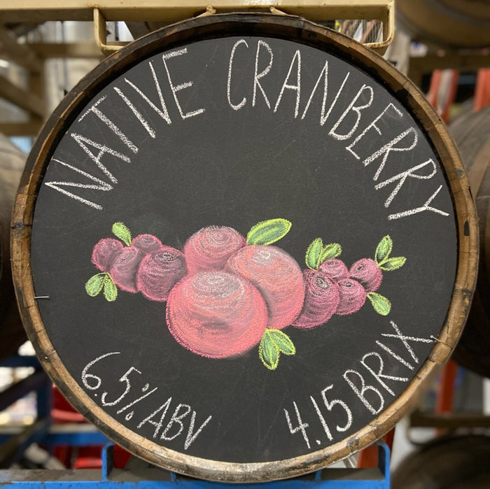 native cranberry - 64 oz