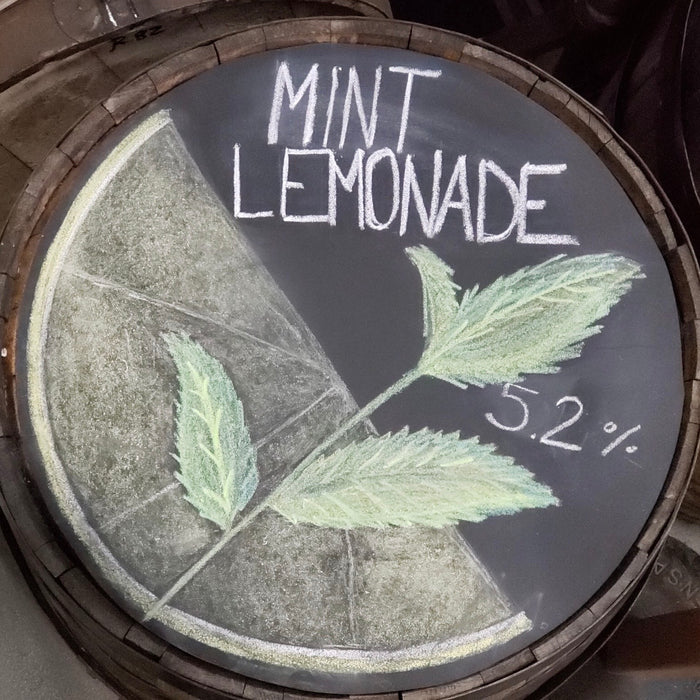 mint lemonade - 64 oz