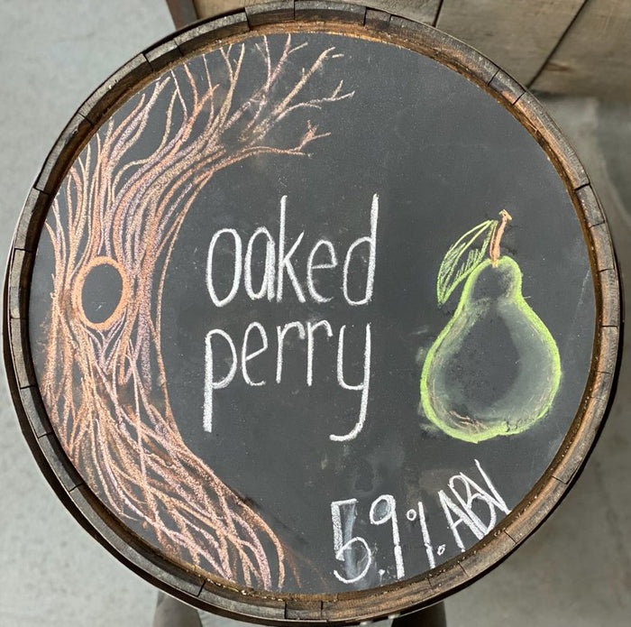 oaked perry - 64 oz