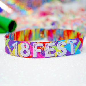 18Fest - 18th Birthday Festival Wristbands