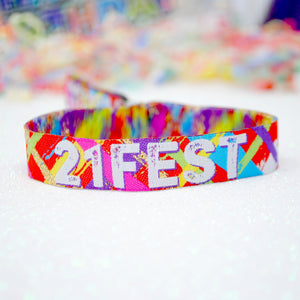 21Fest - 21st Birthday Festival Wristbands