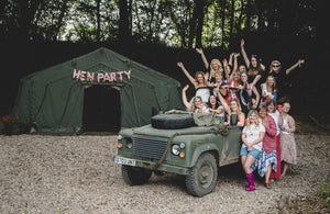 Hen Party Glamping Weekends in the UK