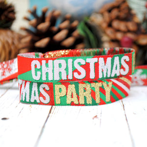Christmas Party Wristbands - Christmas Party Accessories