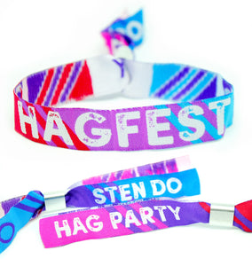 Hag Do Accessories / Hag Fest wristbands for joint Hen & Stag Parties