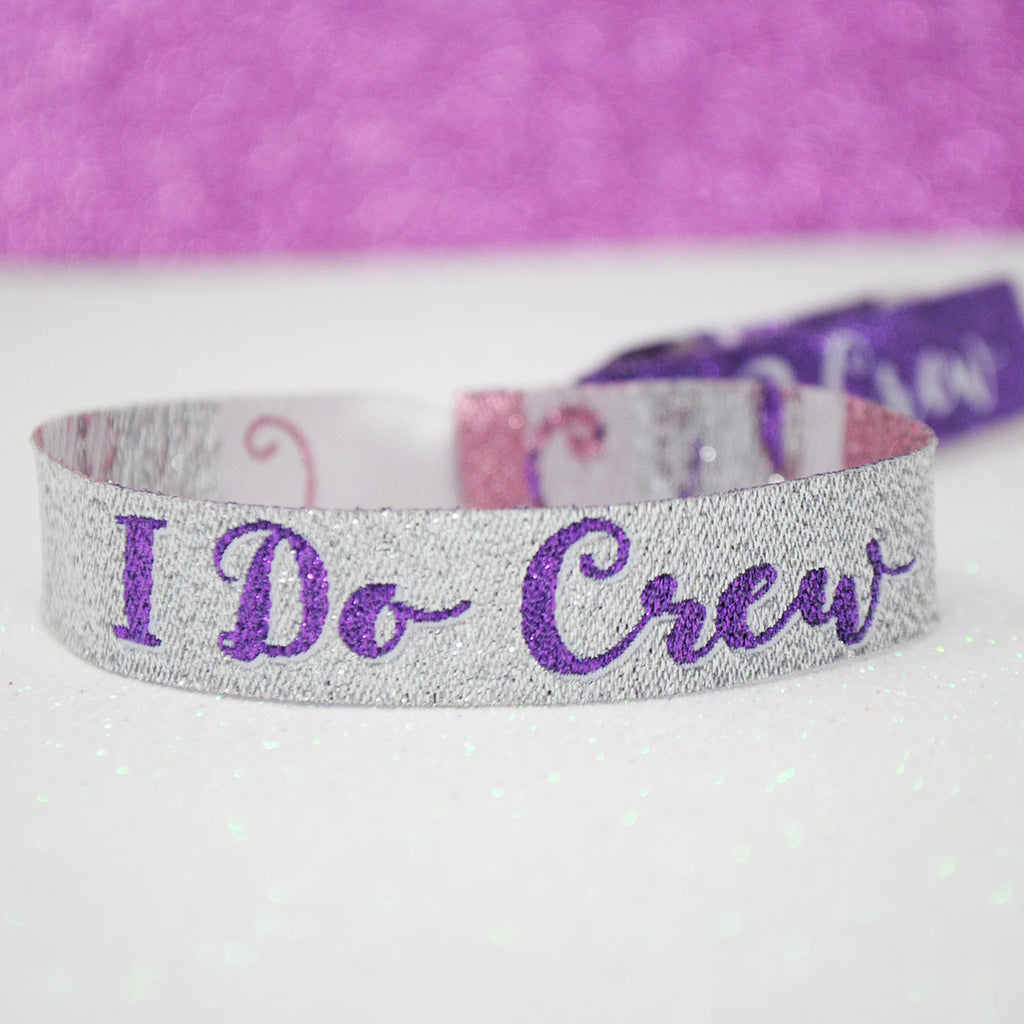 I Do Crew Hen Party and Bachelorette Party Wristbands