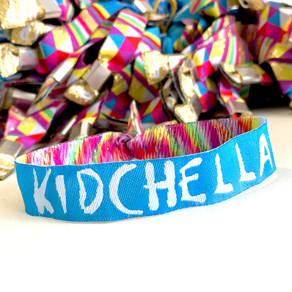 Kidchella Children's Party Wristbands