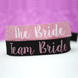 Team Bride Hen Party Wristbands - What colour will you wear?