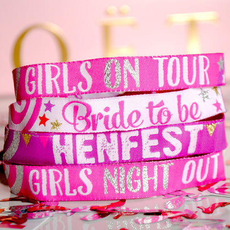 ALL HEN PARTY WRISTBANDS