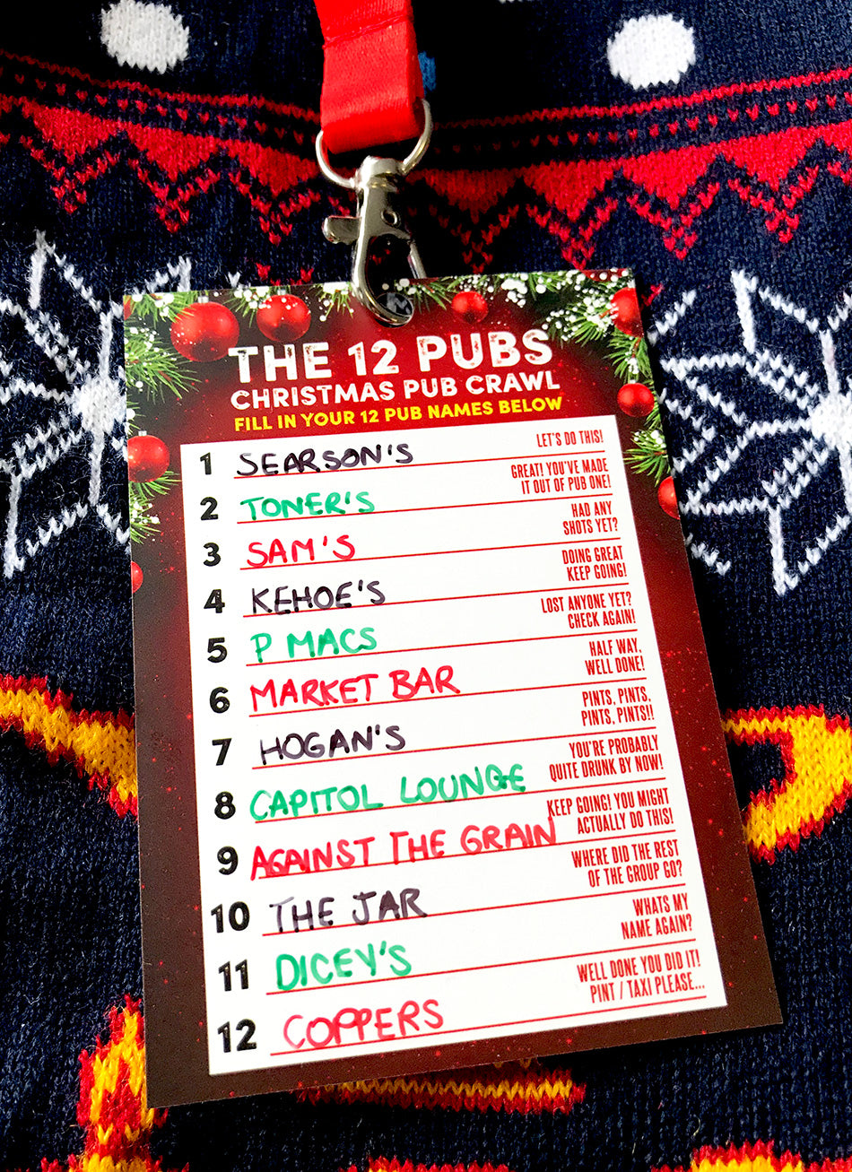 12 pubs of christmas dublin pub crawl