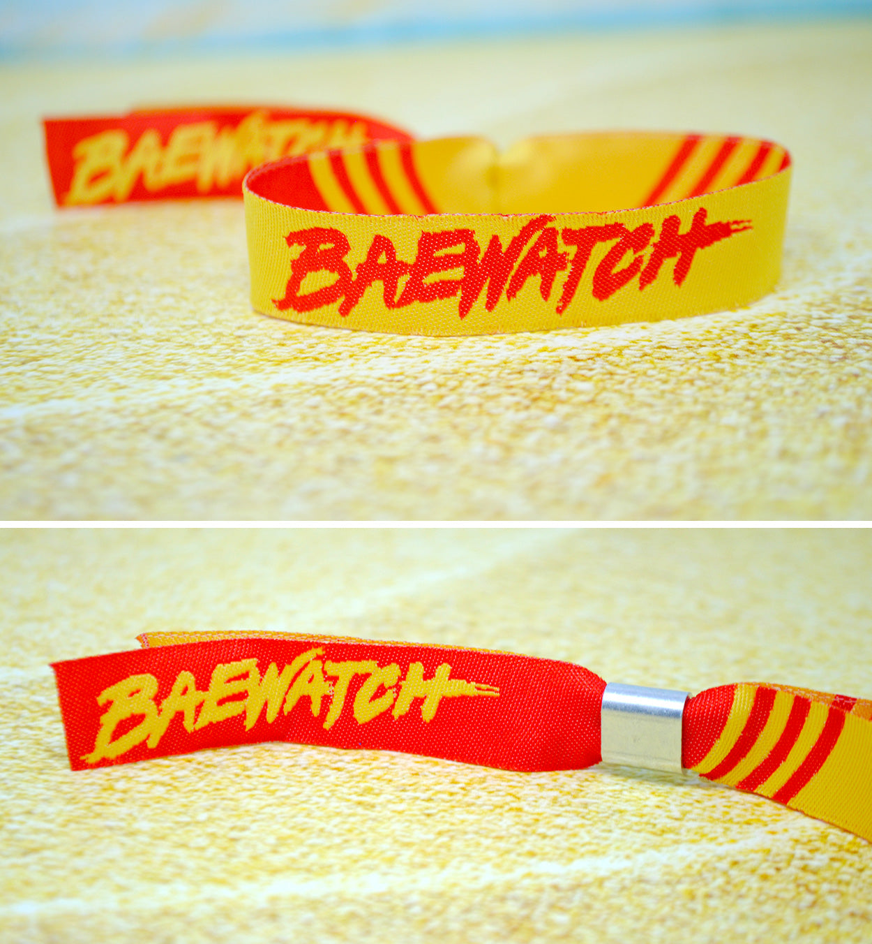 BAYWATCH hen party wristbands