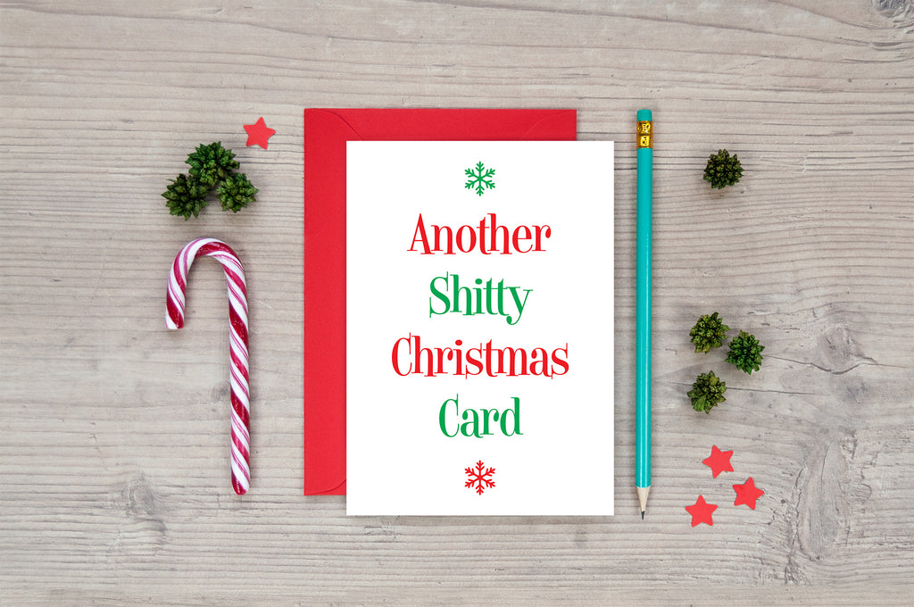funny rude offensive shitty funny christmas cards