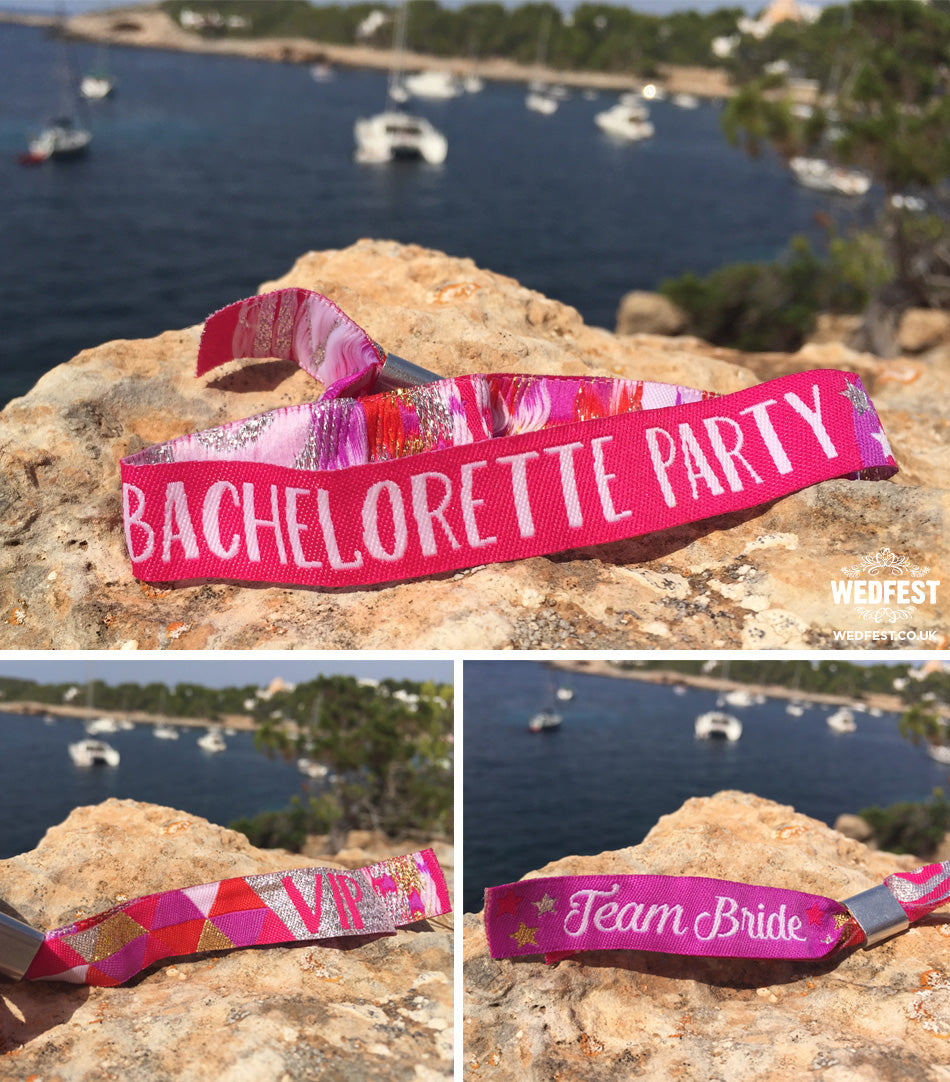 bachelorette party weekend wristbands