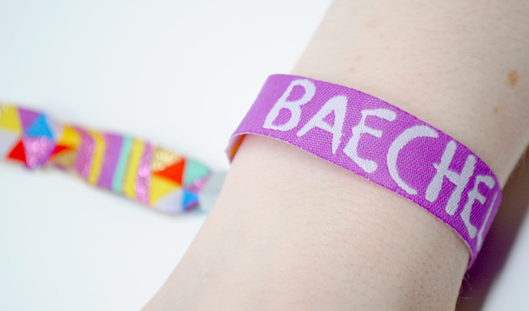 baechella festival wristband party favors