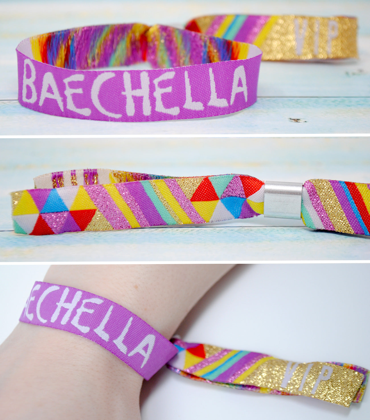 baechella party accesories wristband bracelets