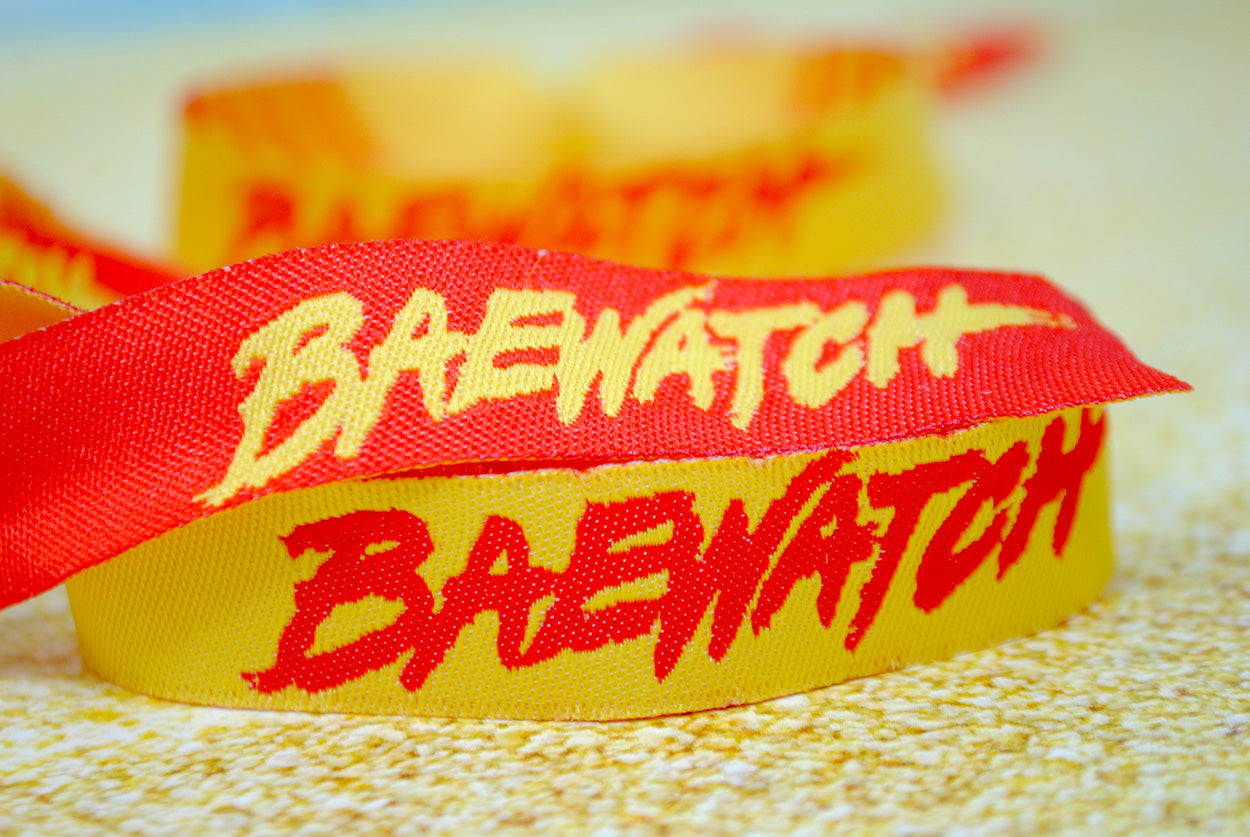 baywatch fancy dress party wristbands accessories