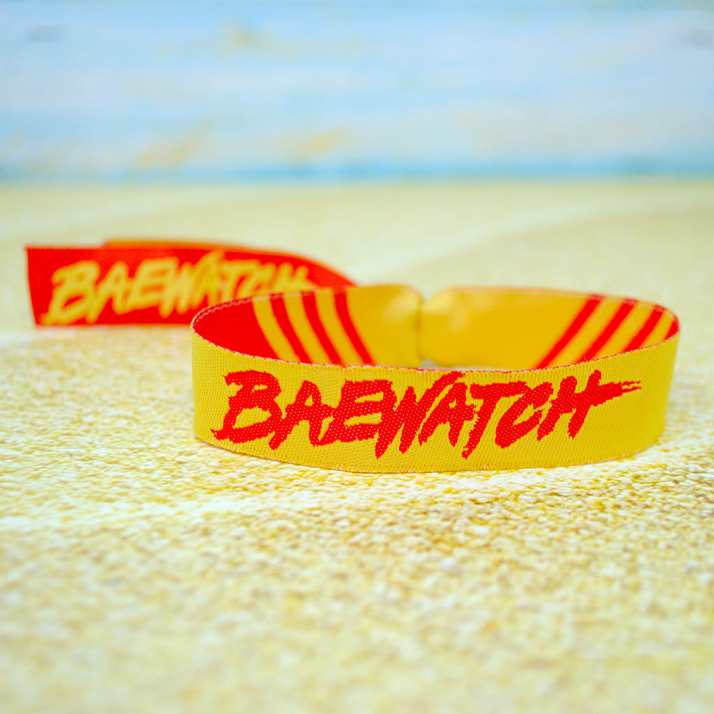 baywatch fancy dress HEN party wristbands
