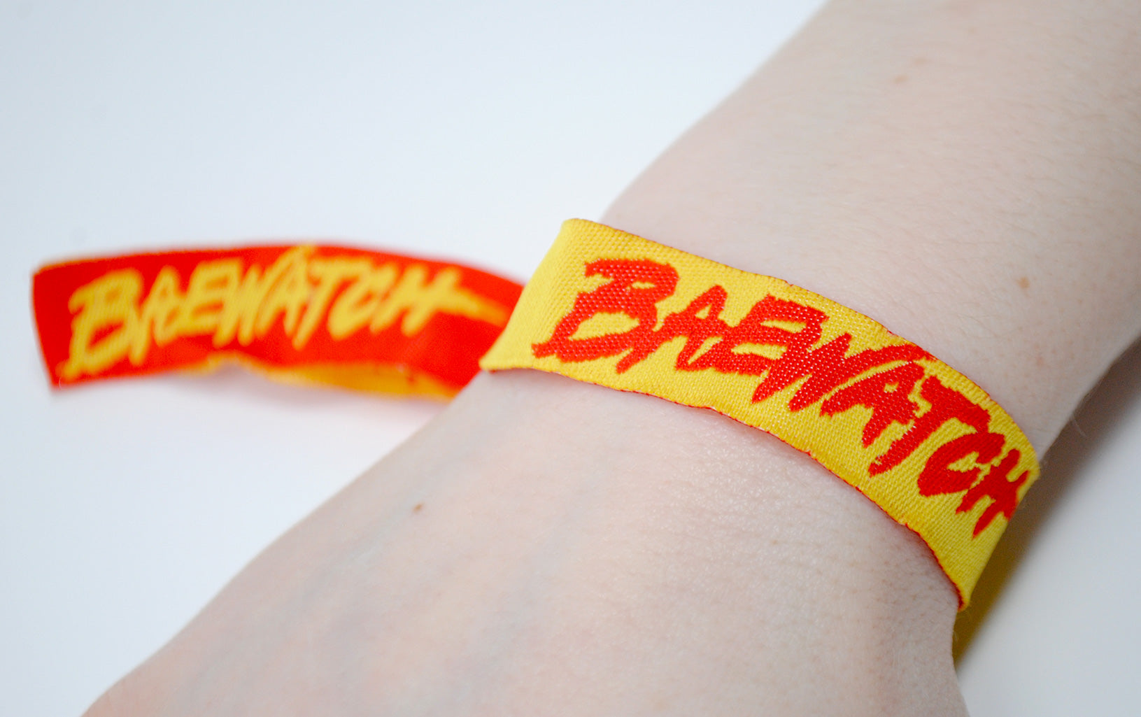 baywatch fancy dress hen night theme wristbands