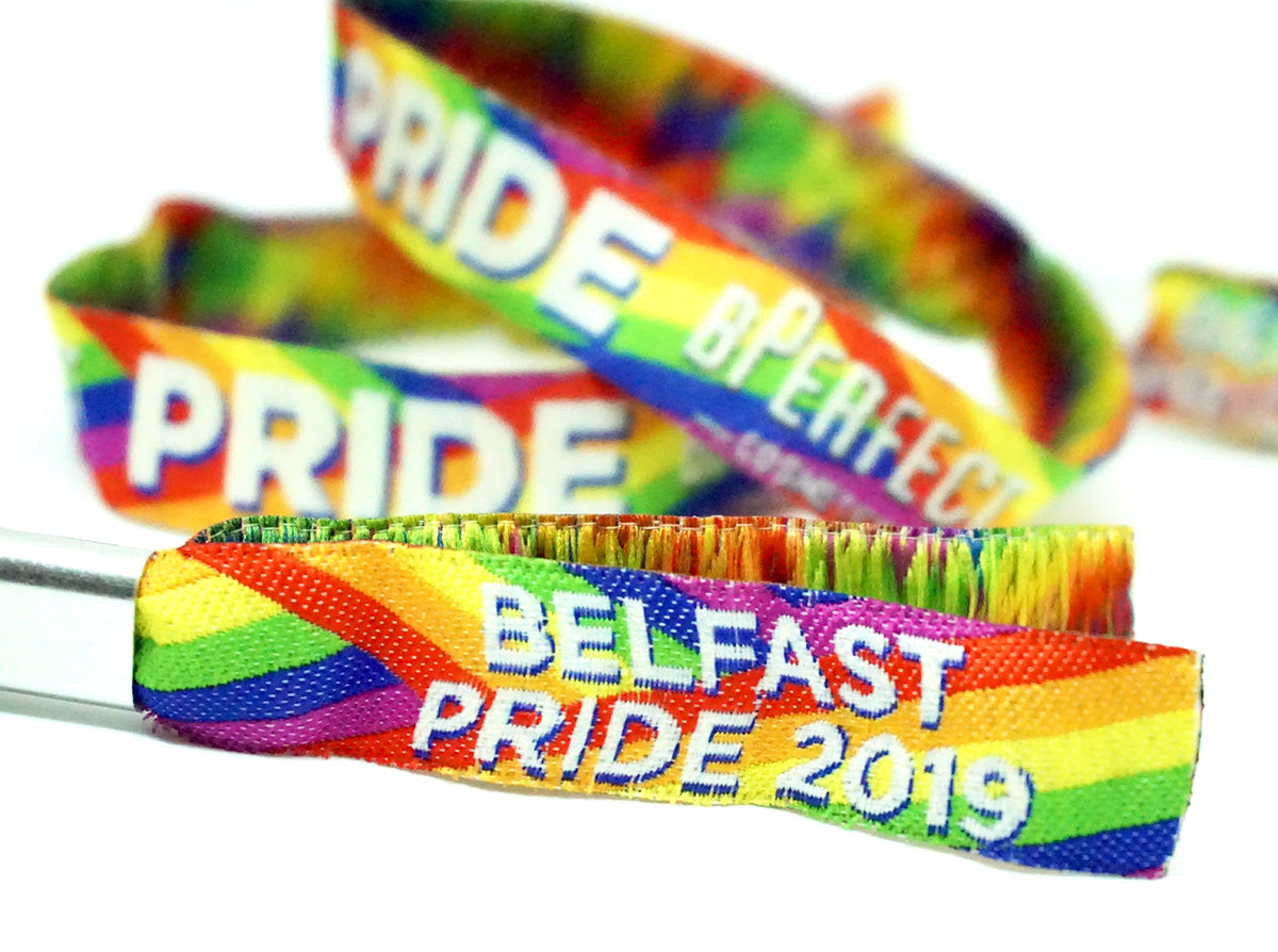 belfast pride wristbands bperfect cosmetics