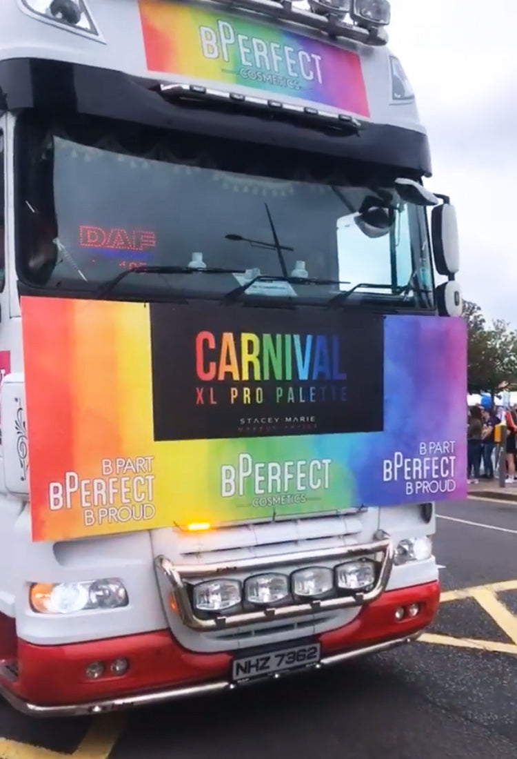 bperfect belfast pride float
