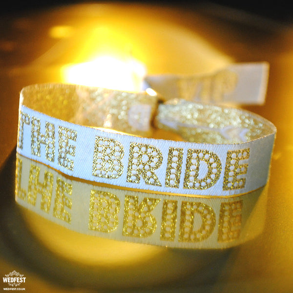 bride squad bride to be bachelorette party wristband