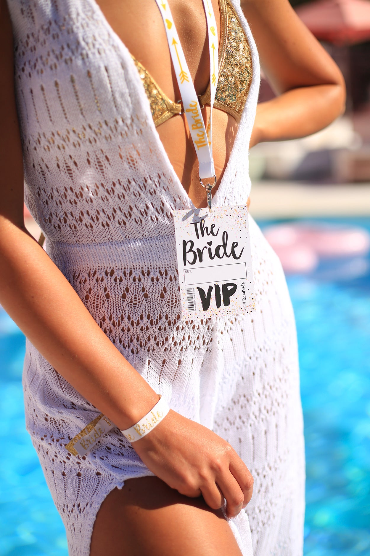 bride to be hen party vip pass lanyard wiki woo hotel ibiza