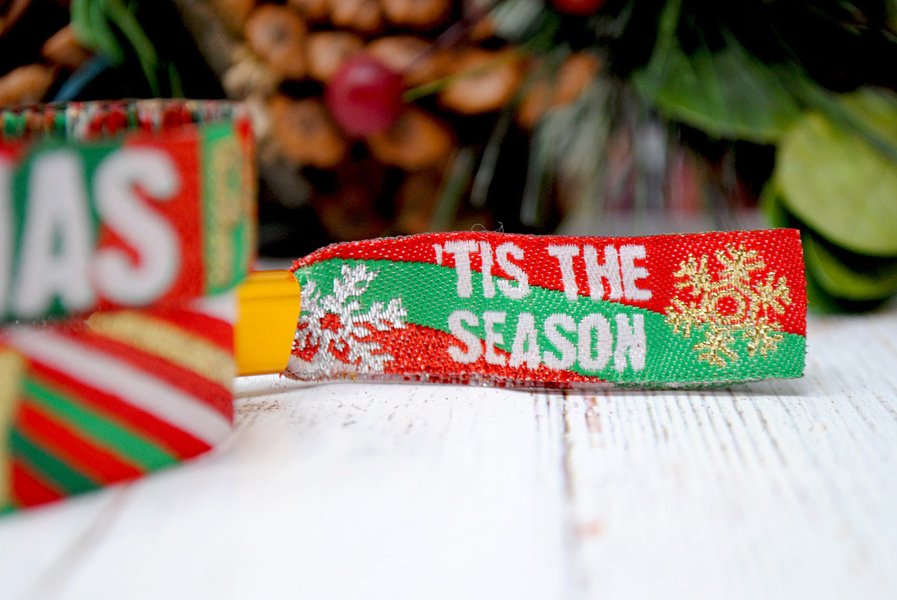 christmas party wristbands accessories