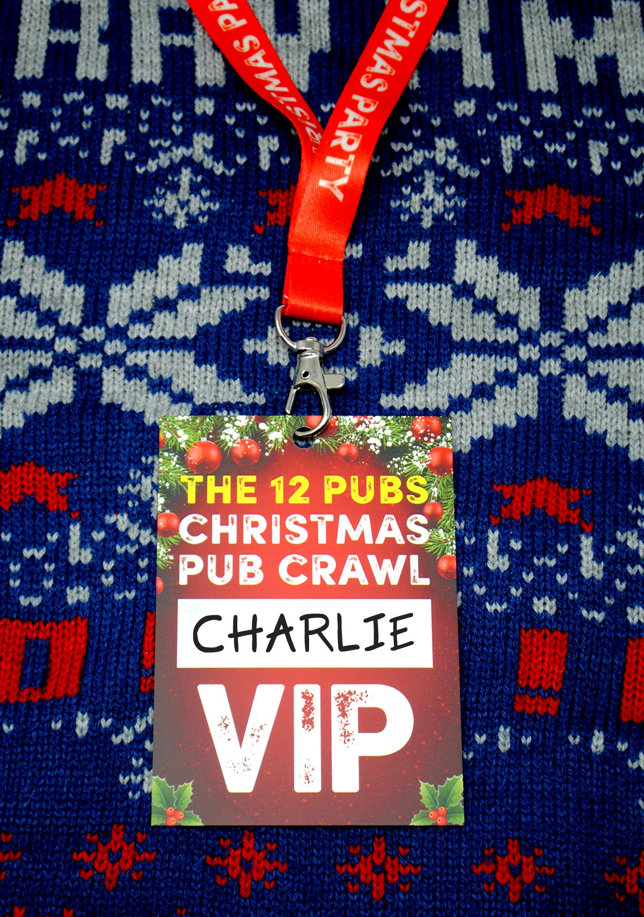 the 12 pubs of christmas pub crawl list vip lanyards
