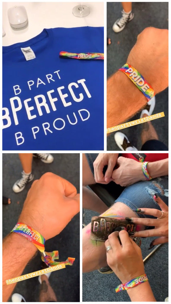 custom pride event wristbands manufacturer