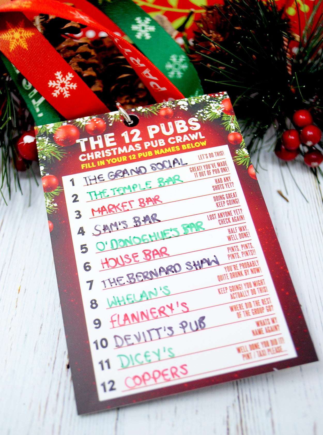 the 12 pubs dublin pub crawl christmas