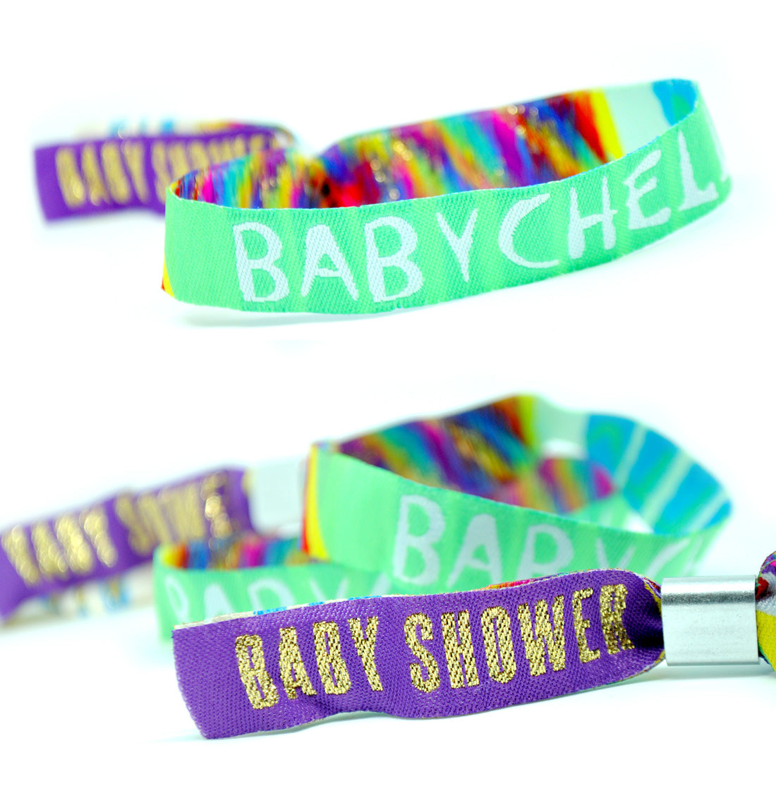 BABYCHELLA baby shower wristbands