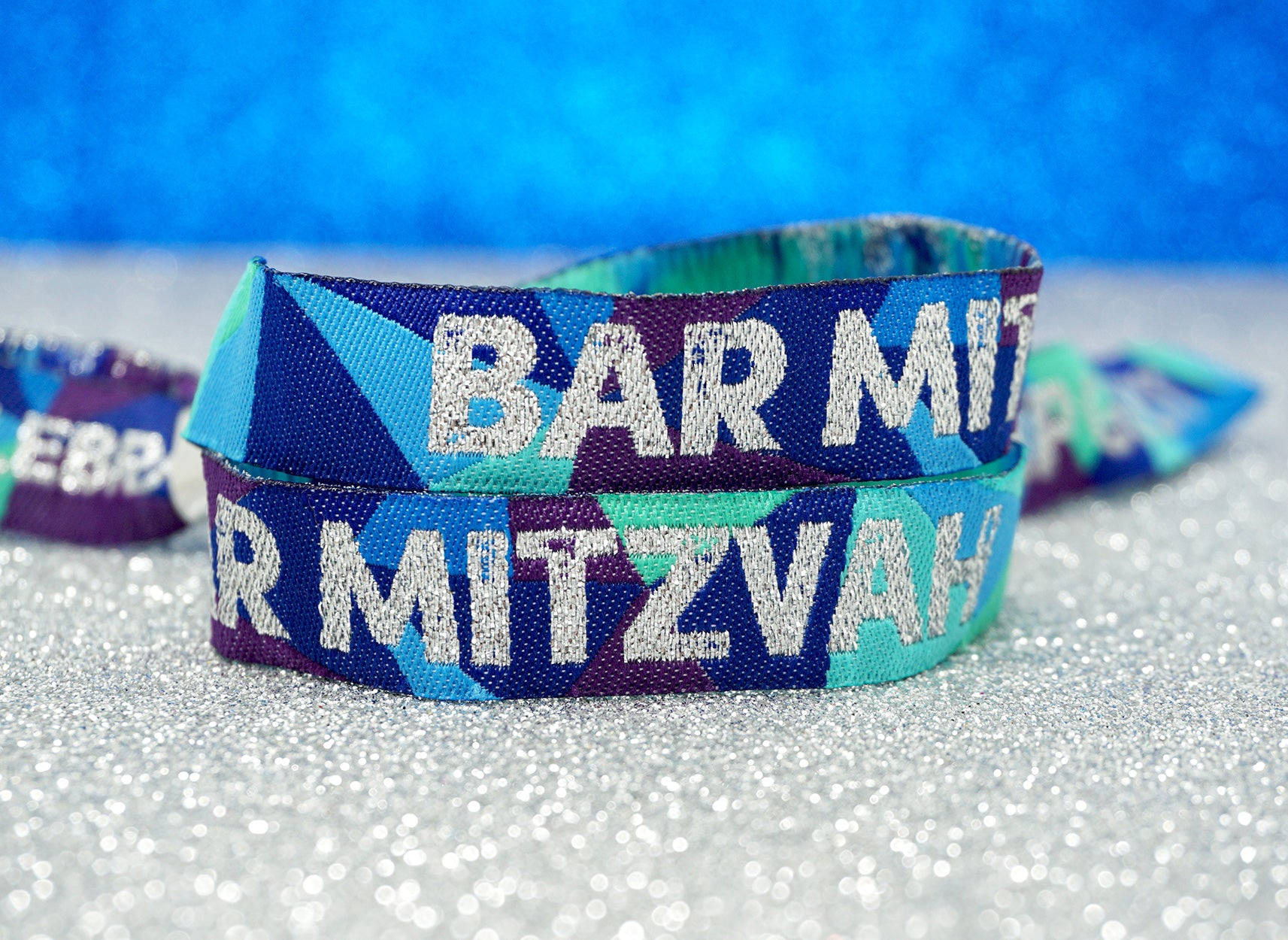 bar mitzvah festival theme party wristbands