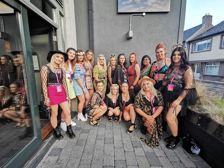 festival themed coachella henchella hen party
