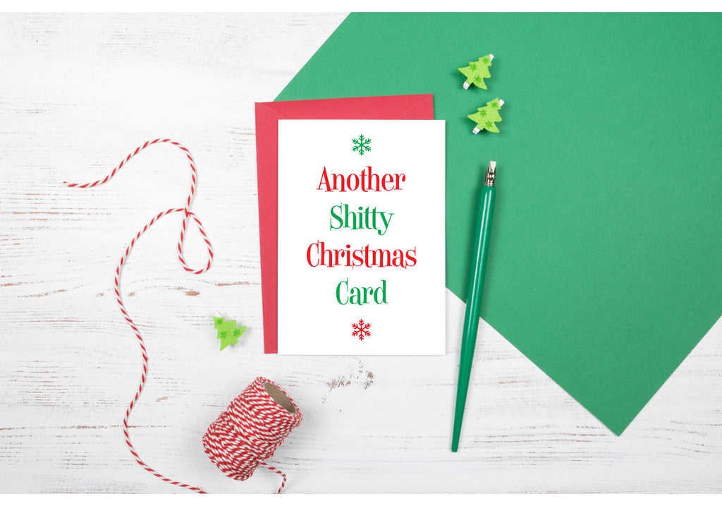 another shitty funny christmas cards rude offensive