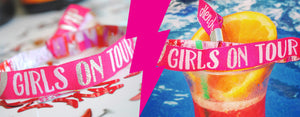 Girls on Tour Hen Party Wristbands