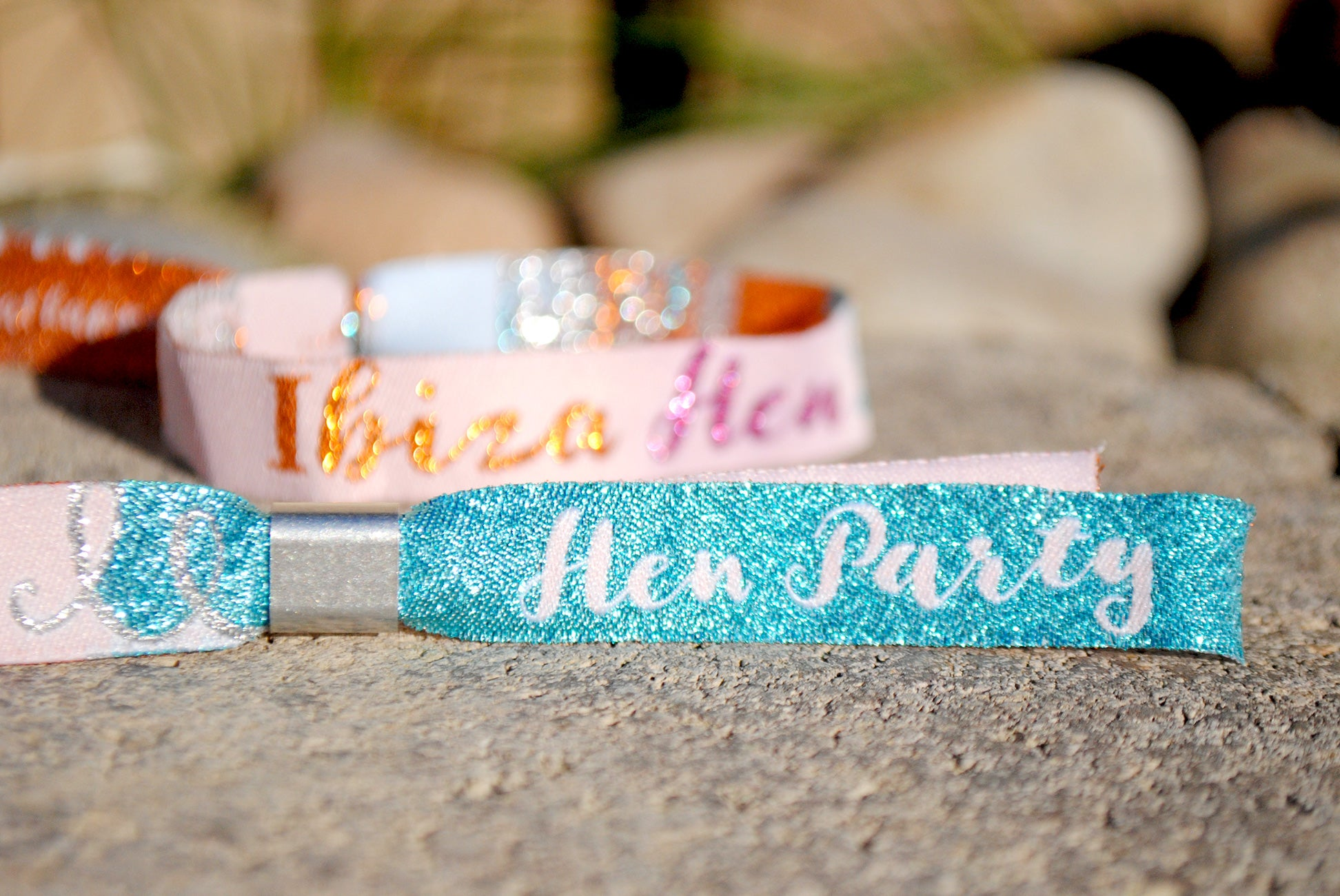 ibiza hen do wristbands o beach club