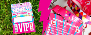 Hen Party Vip Pass Lanyards