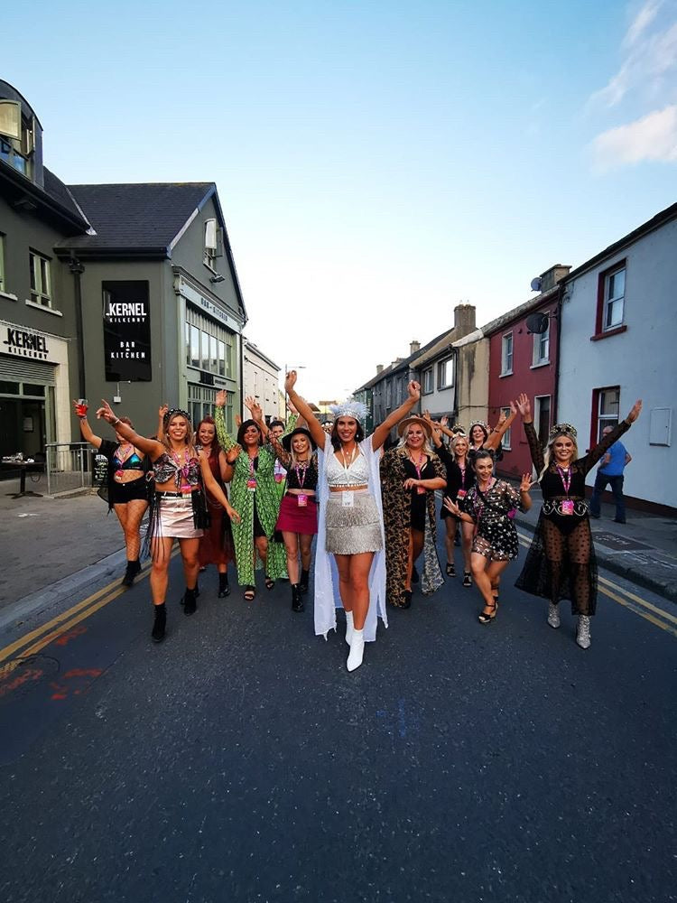henchella festival hen party ireland
