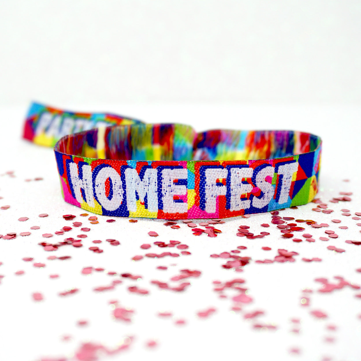 home fest festival party Armbänder wristbands