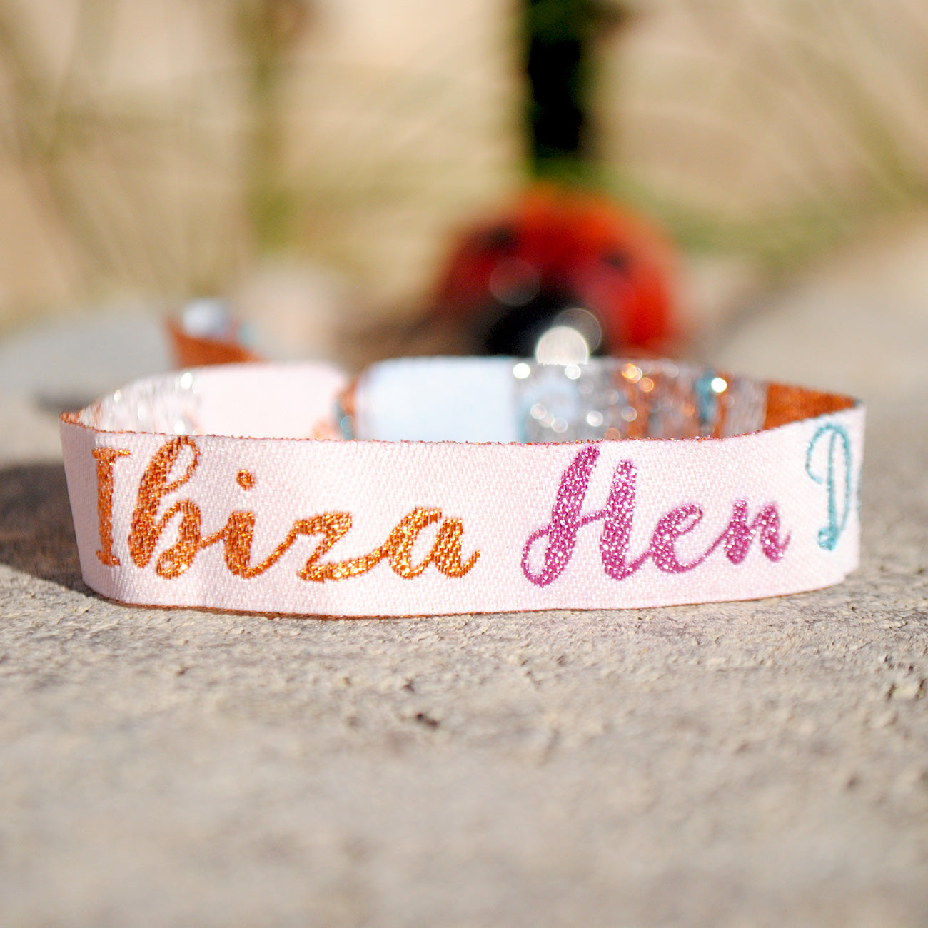 ibiza hen do wristbands party favours OCEAN BEACH CLUB