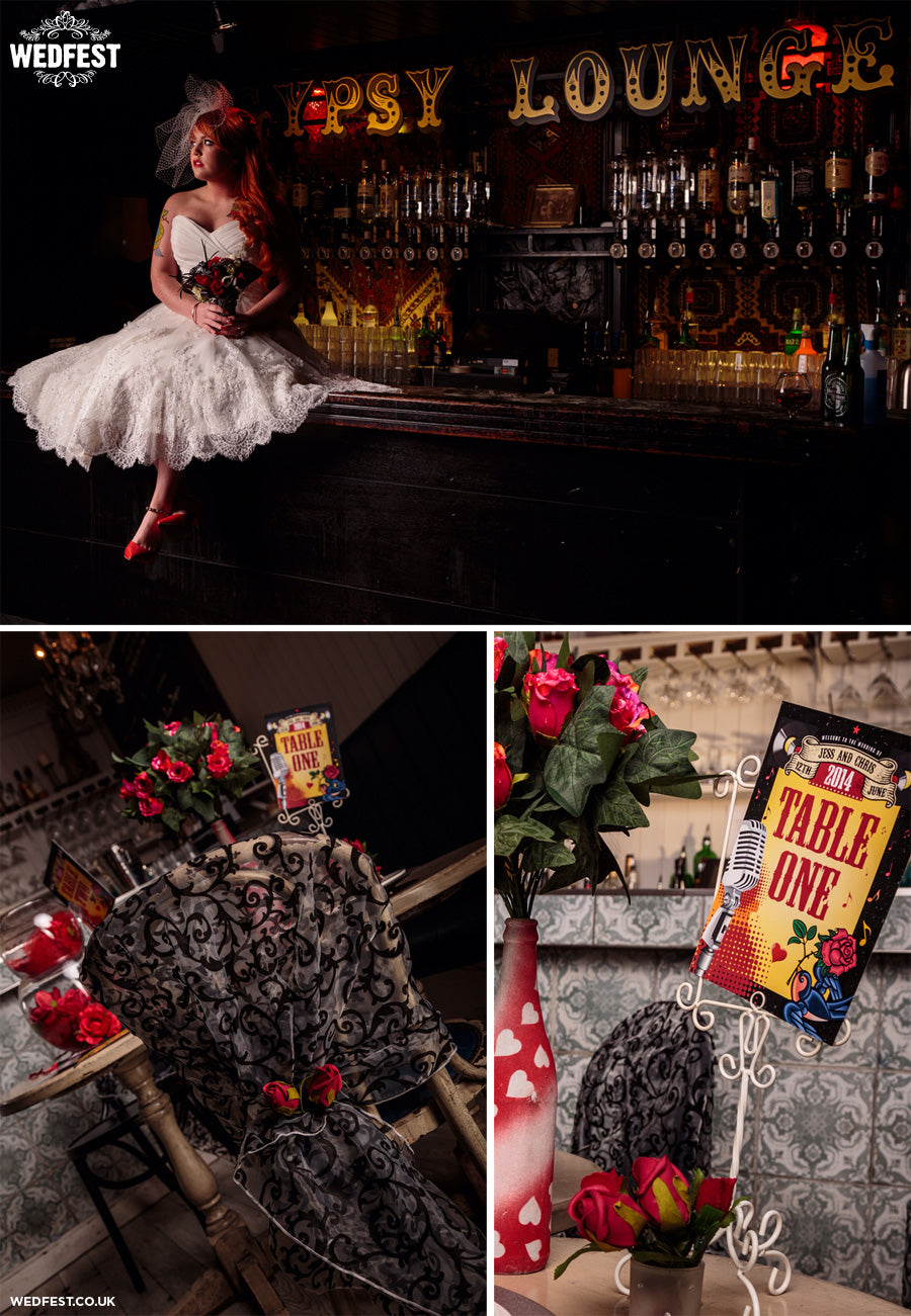 rockabilly wedding ideas