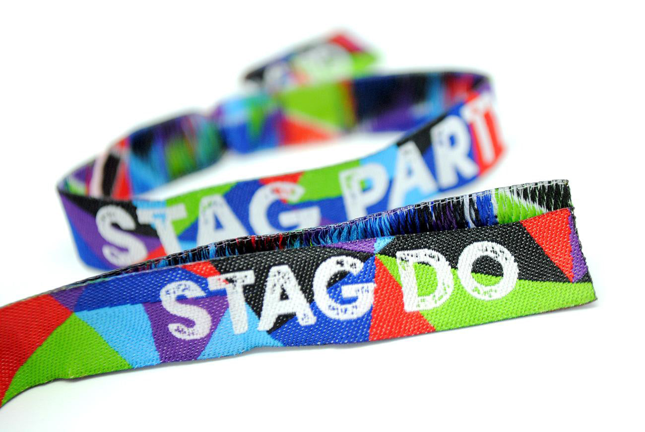 stag party stag do festival wristbands