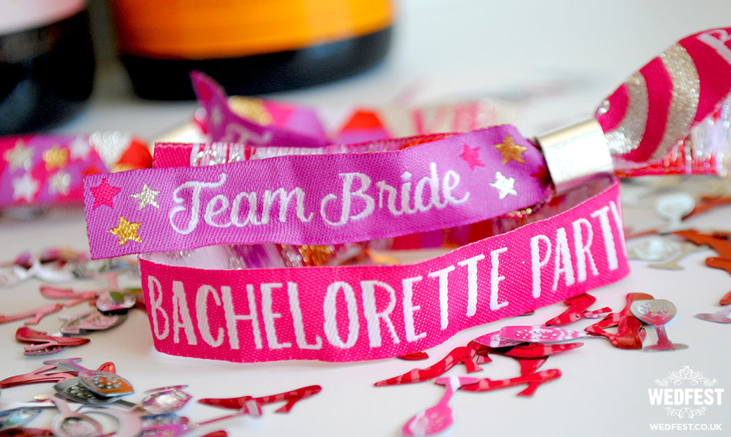 team bride bachelorette party bracelets