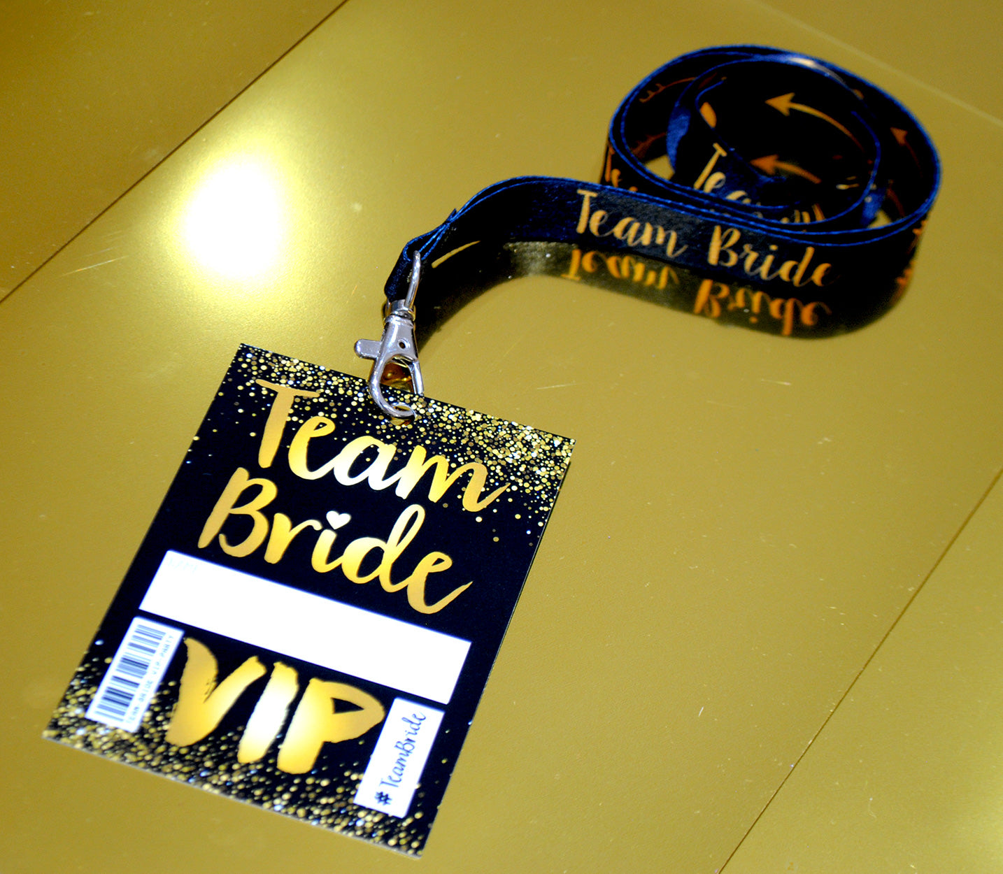 team bride hen party lanyards