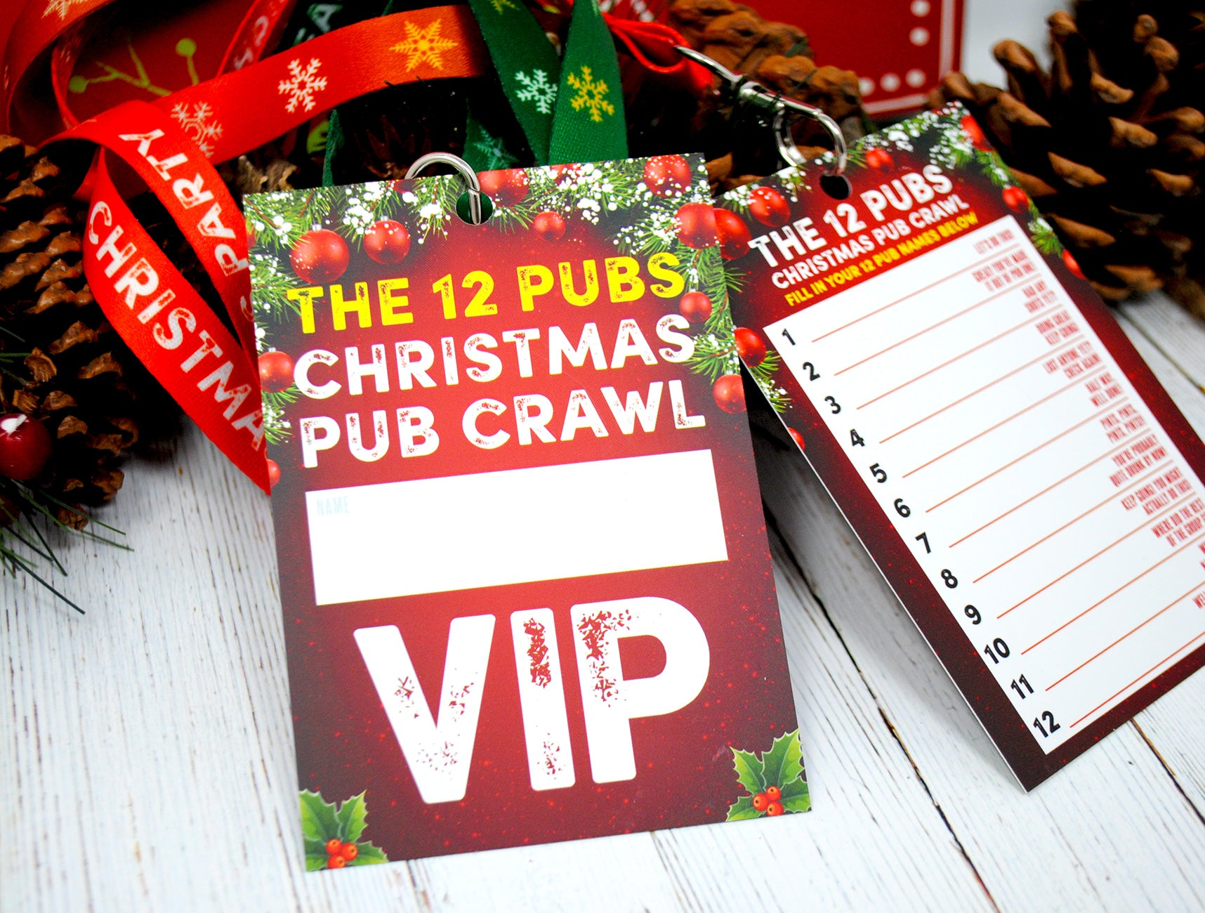 christmas drinking game 12 pubs challenge