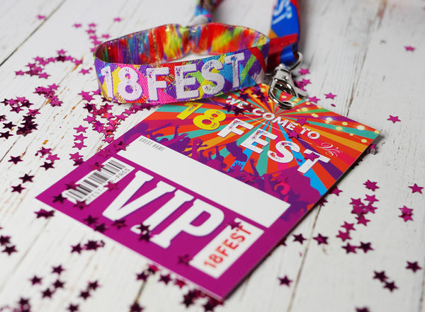 18th birthday party festival accessories